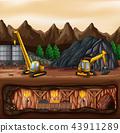 煤炭 矢量 矢量图 43911289