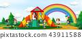 playground, play, kids 43911588