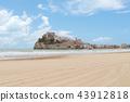 Pope Luna's Castle. Valencia, Spain. Peniscola.  43912818