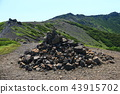 Yotei mountain peak summit crater and outer wall 43915702
