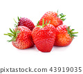 Strawberry isolated on white background. 43919035