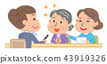Care management elderly person illustration 43919326