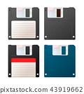floppy, disk, set 43919662