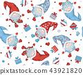 Vector  Christmas seamless pattern.   43921820