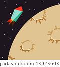 우주 로켓 달 여행 43925603