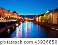 twilight at Otaru canals 43926850