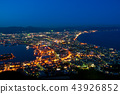 view of hakodate, city scape at night 43926852