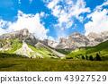 Fuciade valley in the Italian Dolomites 43927529