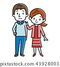 幸福的情侶 43928003