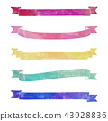 Stamp style ribbon ribbon set 43928836