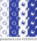 pattern seamless crab 43930419