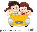 和家人一起开车 43934013