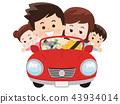 和家人一起开车 43934014