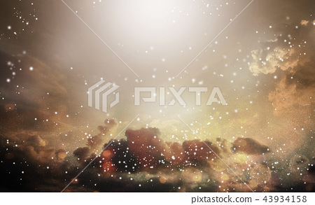 Abstract light and cludscape background 43934158