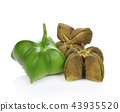 Sacha-Inchi peanut,seeds fruit  43935520