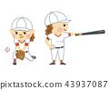 baseball baseballs player 43937087