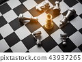 Chess Board - the only business fighting game  43937265