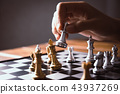 businessmen are using chess ideas business  43937269