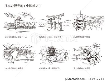 日本旅游景点(中央区) 43937714