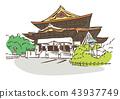Nagano Prefecture Nagano City / Zenkoji 43937749
