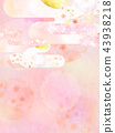 總和 - 背景 - 日本紙 - 春天 - 櫻花 - 粉紅 43938218