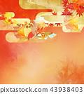ญี่ปุ่น - พื้นหลัง - ฤดูใบไม้ร่วง - ใบไม้เปลี่ยนสี - ทอง 43938403