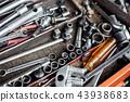 screwdriver knot in equipment box 43938683