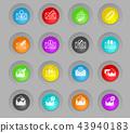 icon, envelope, letter 43940183