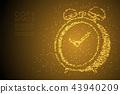 Abstract Geometric Bokeh circle dot pixel pattern 43940209