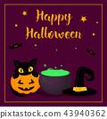 happy halloween poster 43940362