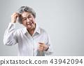 노인, 한국인, 여성 43942094