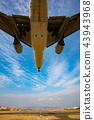 보잉 777-200의 착륙 (오사카 공항) 43943968
