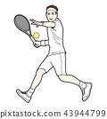 เทนนิส,ลูกเทนนิส,ผู้ชาย 43944799