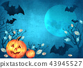 scary, halloween, background 43945527