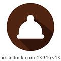 winter hat icon 43946543