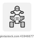 atv offroad icon 43946677