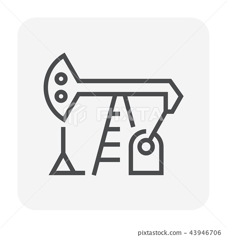 oil pump icon 43946706