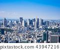 東京都市形像新宿子中心區域 43947216