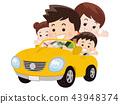 和家人一起开车 43948374