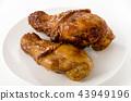 로스트, 구이, 닭고기 43949196