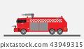 Airport Fire Truck Vector 43949315