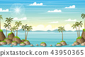 Tropical Coastal Summer Landscape 43950365