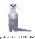vector cartoon animal clip art 43950469