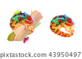 vector cartoon animal clip art 43950497