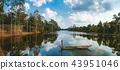 moored, old, lake 43951046