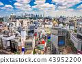 Shibuya, Tokyo, Japan Skyline 43952200