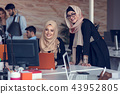 hijab, woman, multiracial 43952805