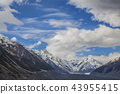 Mountains in Mount Cook National Park New Zealand 43955415
