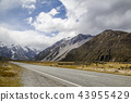 Mountains in Mount Cook National Park New Zealand 43955429