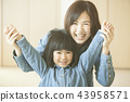 母親和女兒 43958571